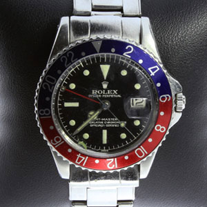 $7,000.00 Loan On 1960 Rolex GMT Master