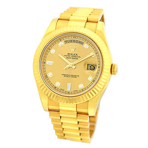 $22,000.00 Loan On Rolex Yellow Gold Day-Date II President