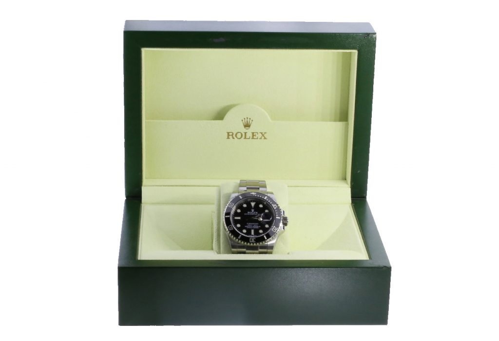 2010 Stainless Steel Submariner in original box.