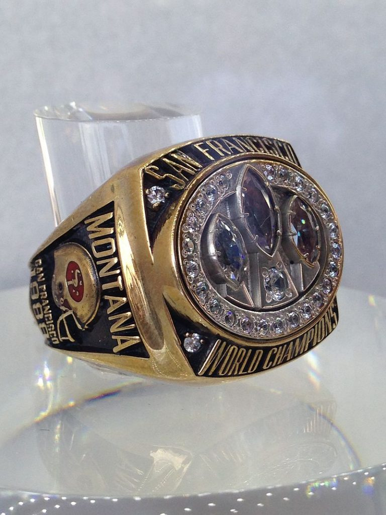 The San Francisco 49ers 1988-1989 Championship Ring.