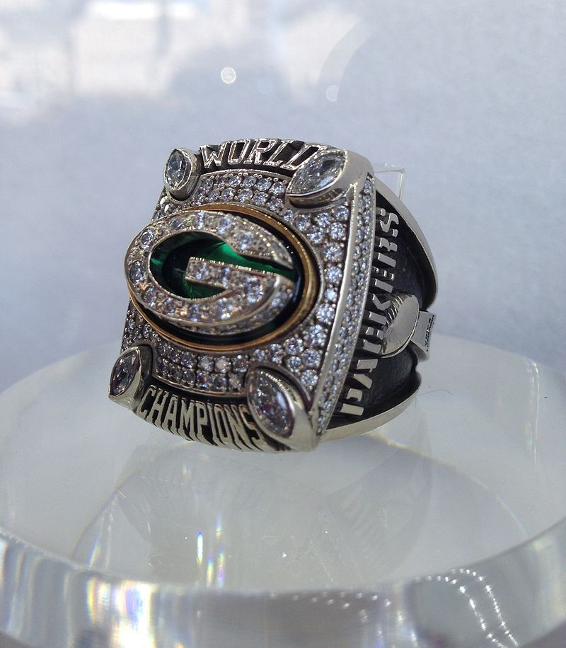 The Green Bay Packers 2010-2011 Championship Ring.