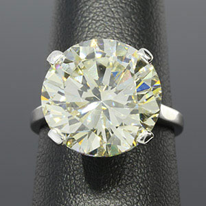 12.11CT Round Diamond