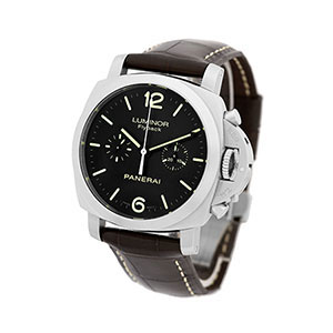 $5,000.00 Loan On Panerai Stainless Steel Luminor Flyback