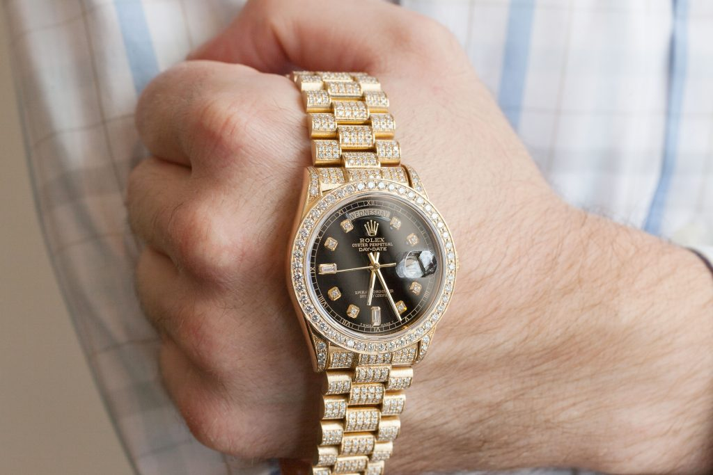 Pros and Cons of an Aftermarket Diamond Rolex